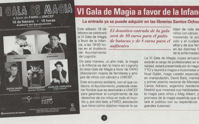 VI Gala Solidaria de Magia a favor de la Infancia