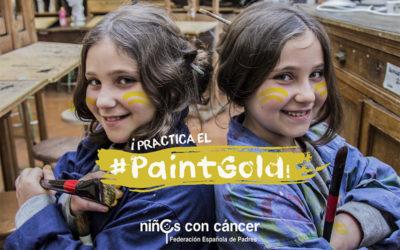 Enciende la esperanza sumándote al #PaintGold