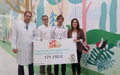 Ensayo pionero contra el tumor cerebral en niños