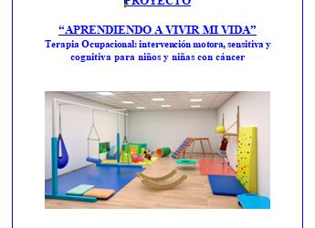 AULA TERAPEÚTICA NIÑOS Y ADOLESCENTES CON CÁNCER